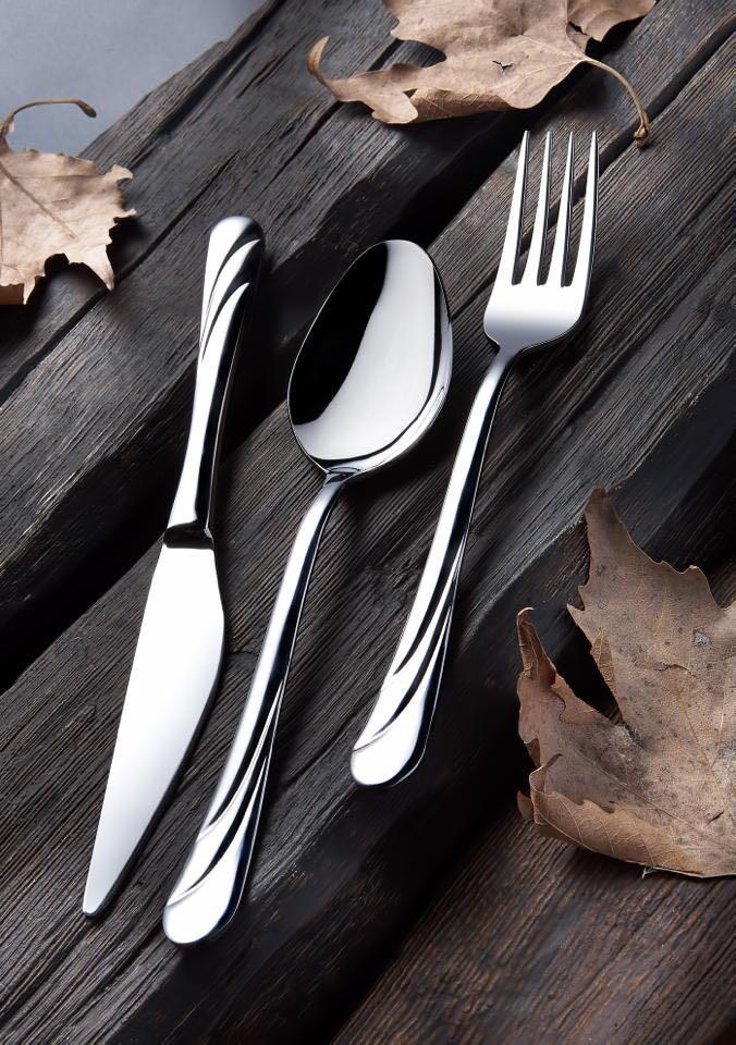 Tercan Saray Modeli Çatal Kaşık Bıçak Seti